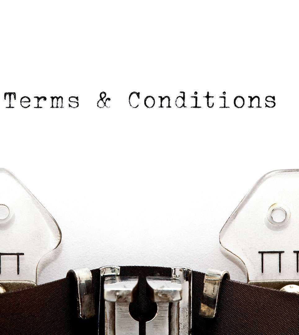 TERMS AND CONDITIONS FOR THE INN AT DEPOT HILL WEBWISE